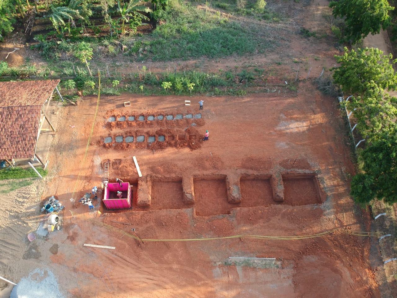 Week 2 concretagem tanques 2 drone