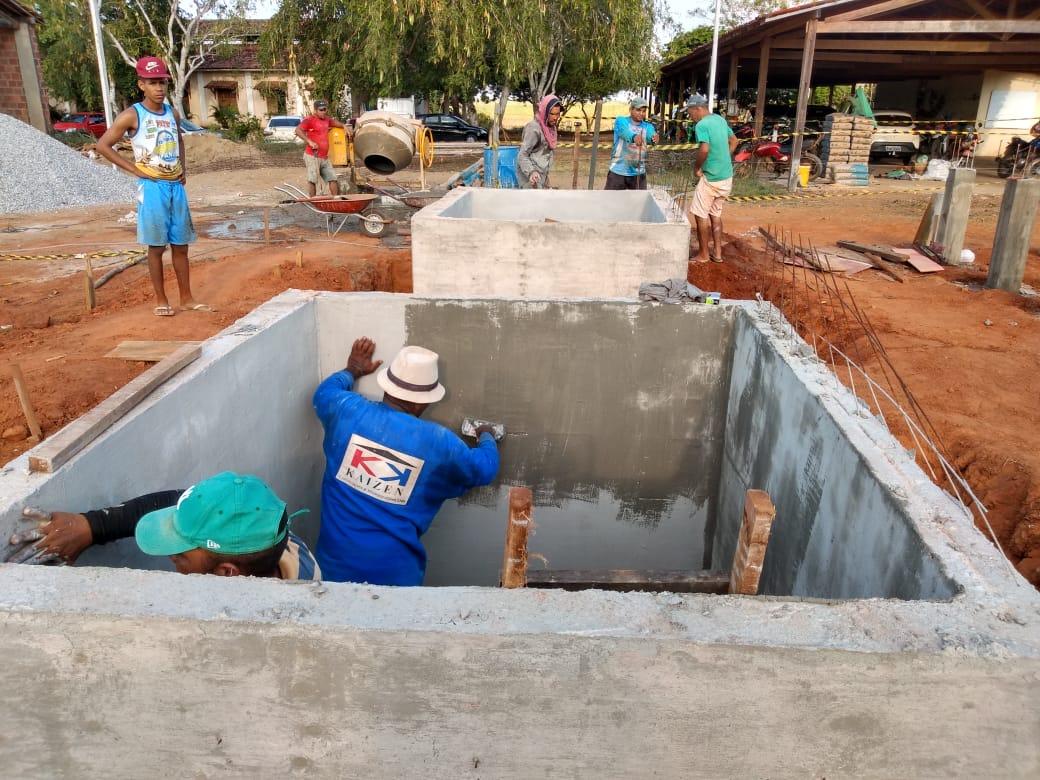 Week 3 concretagem tanques e pilares