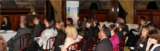 Audience members were completely engaged by the outstanding panel presentations.