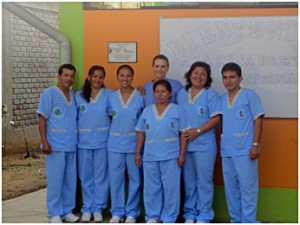 Some of my many Peruvian colleagues and friends