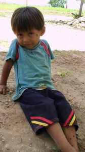 Peruvian boy.