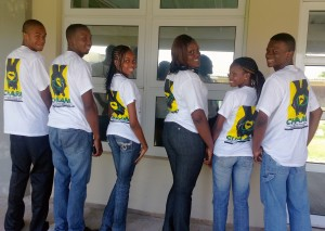 INMED's youth health aides are reaching out to their peers in Trelawny to promote resproductive health and positive choices.