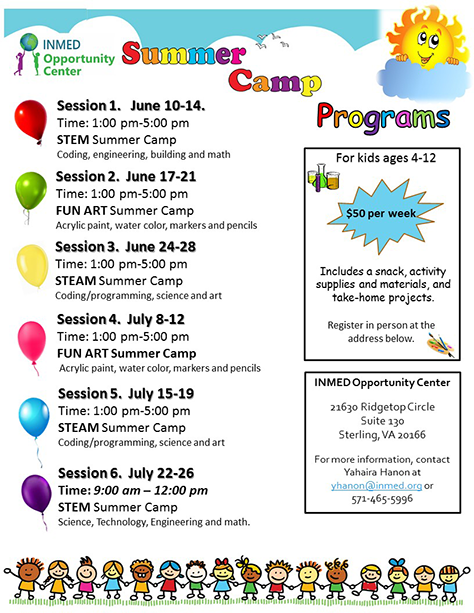 Summer Camp @ INMED Opportunity Center