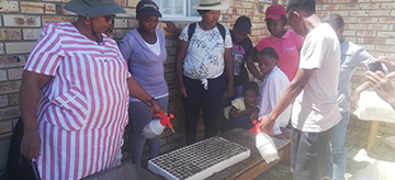 INMED's agricultural training empowers disabled women and youth in the Free State