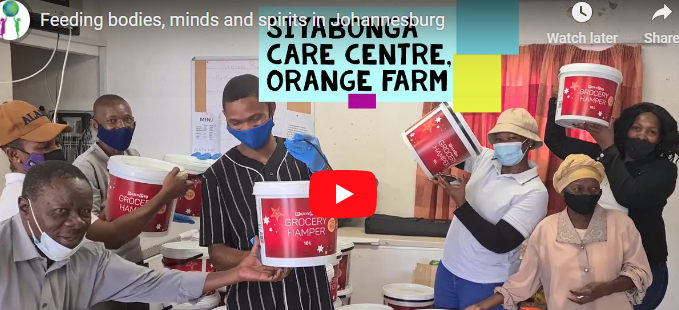Feeding bodies, minds and spirits in Johannesburg