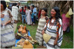 Indigenous women in Atalaya